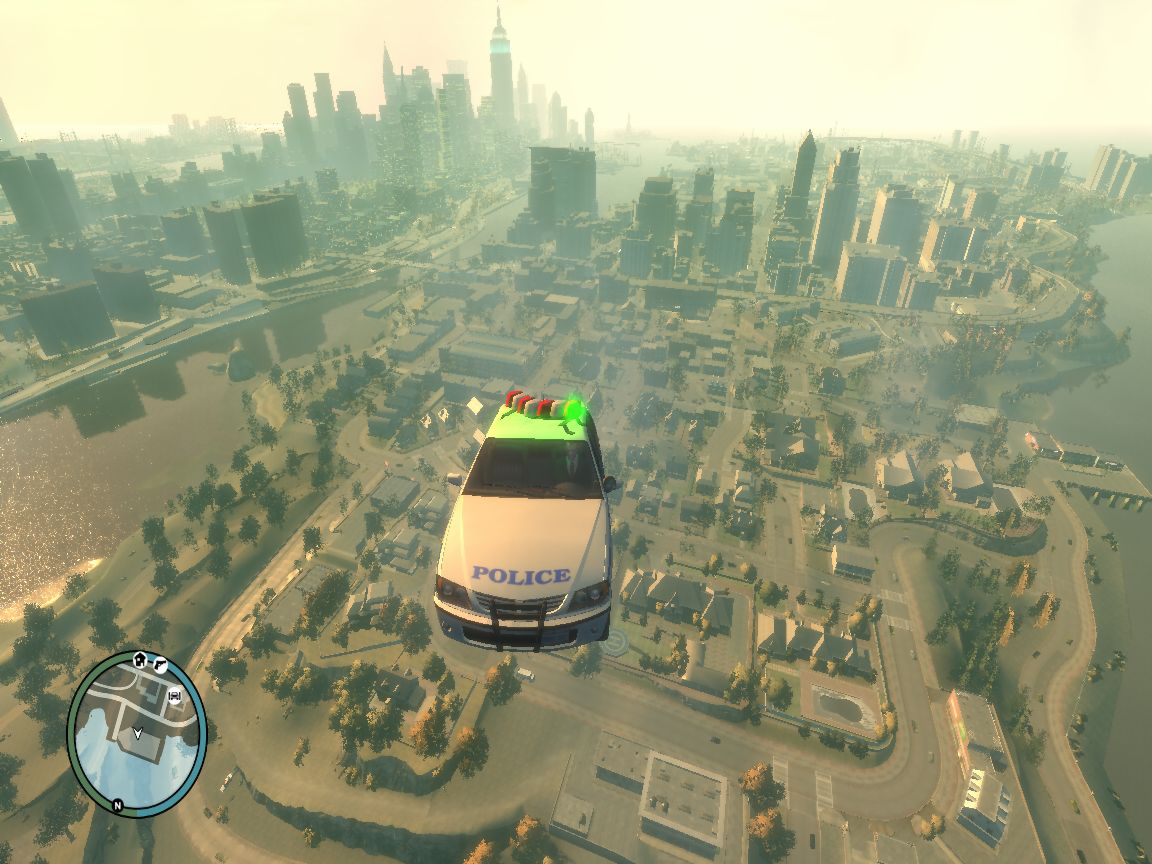 The GTA Place - gta iv police car is helicopter ver 1 0