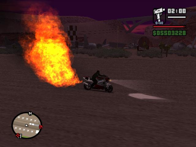 The GTA Place - NRG-500 fire