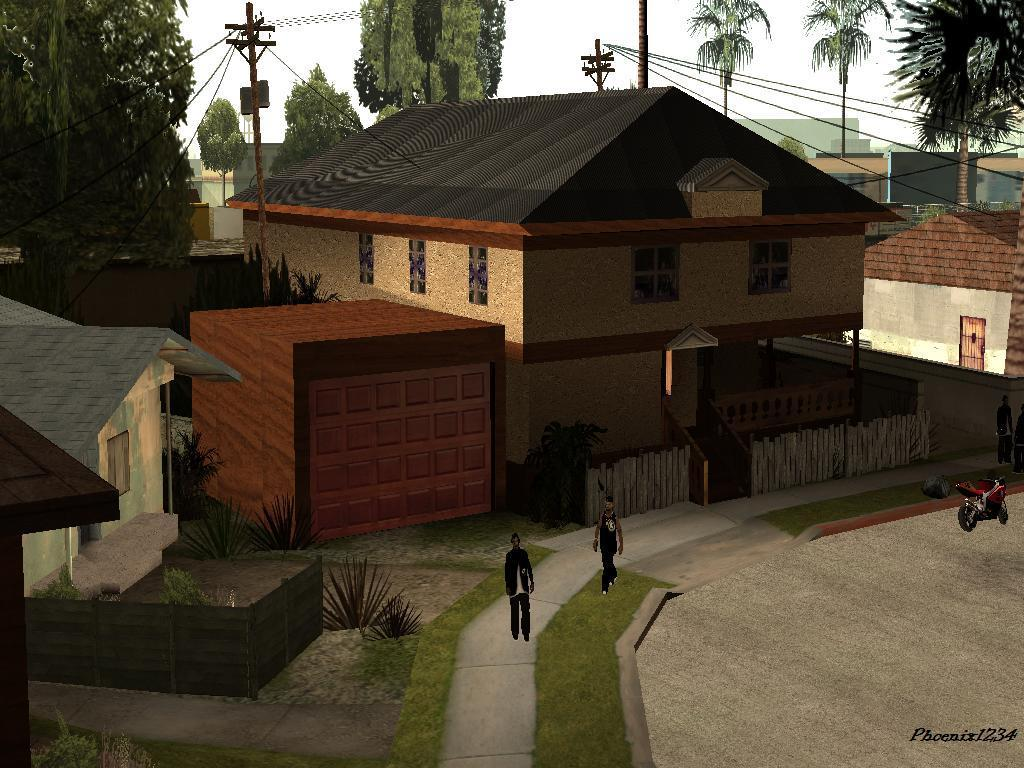 The GTA Place - cj's new house