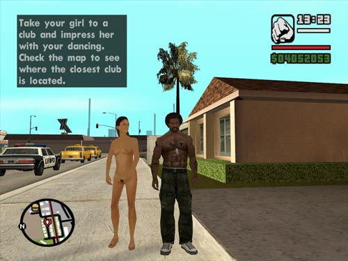 Nude codes for san andreas