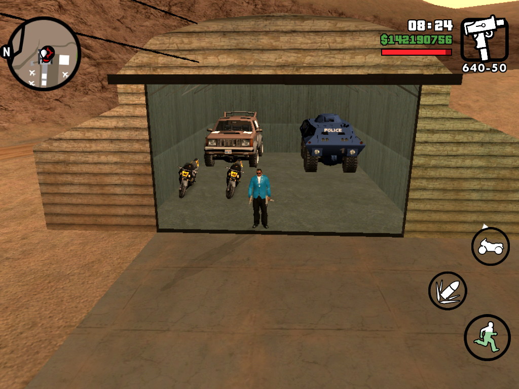 The GTA Place - GTA San Andreas Save Game iOS 100% Completed