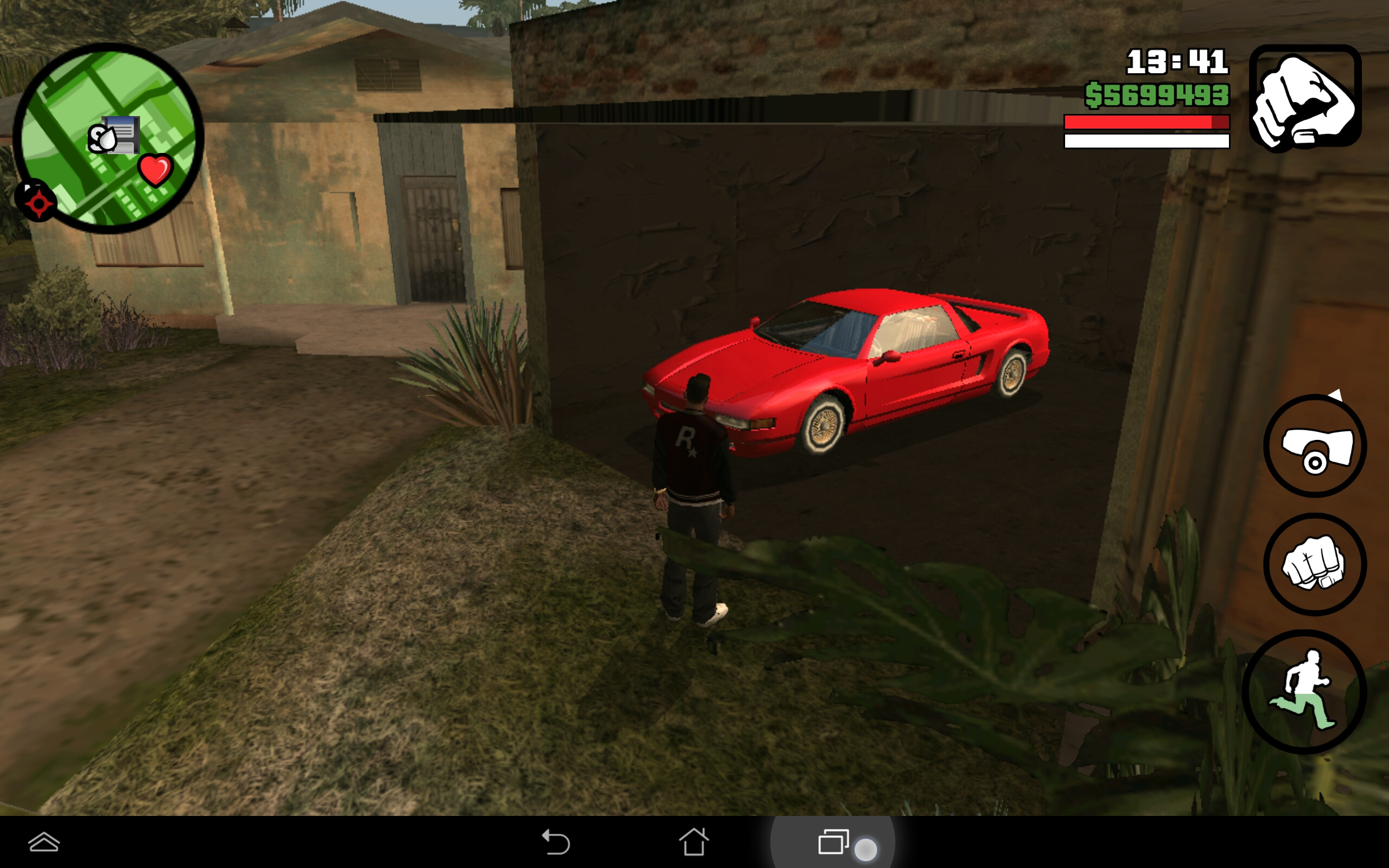 How to put 100% save game in GTA san andreas in android