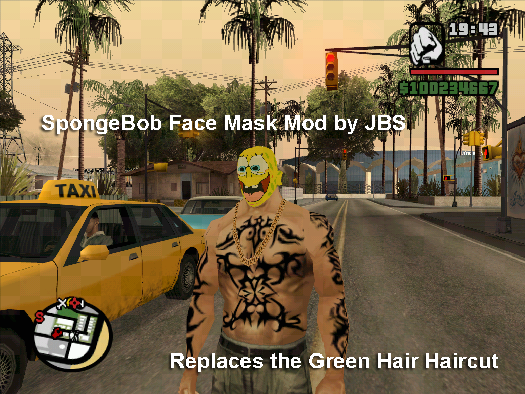 Gta san andreas spongebob download