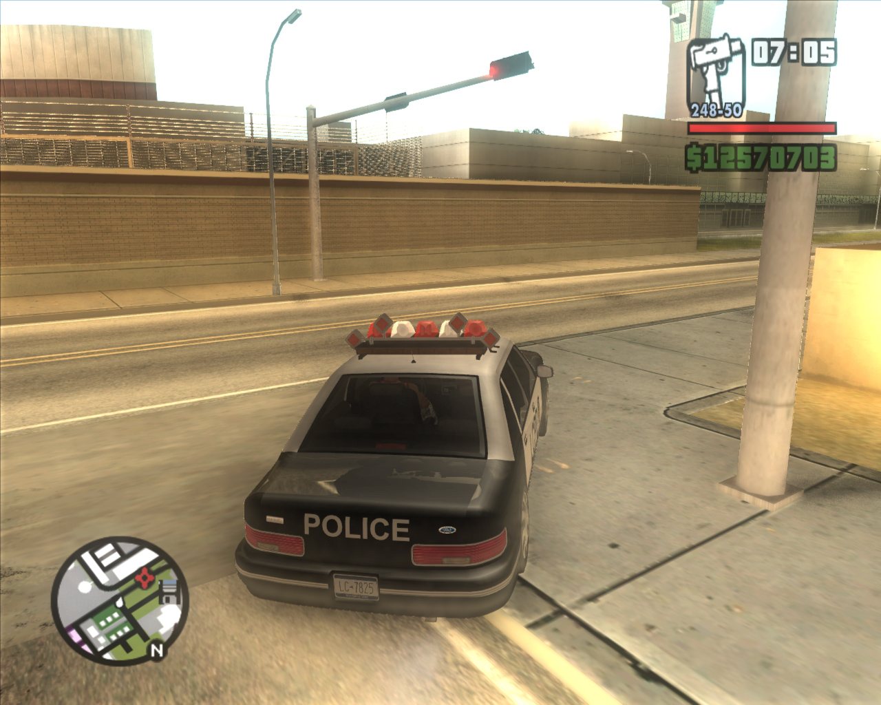 The GTA Place - High Poly/HD GTA3 Police car for San Andreas