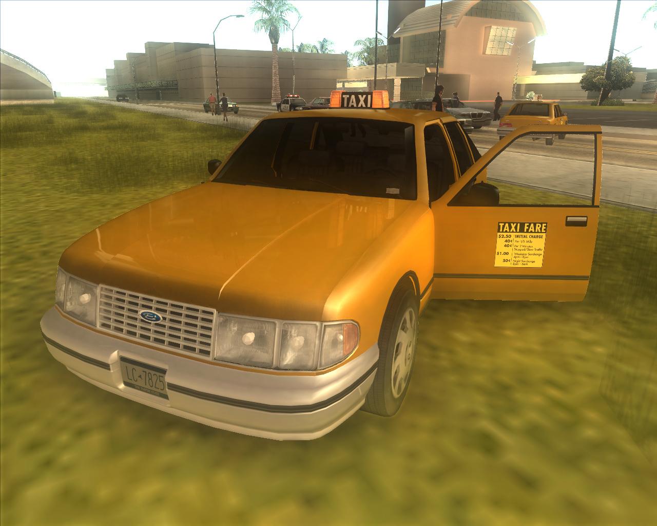 Gta-modding. Com download area » gta san andreas » gtaiv cars » taxi.