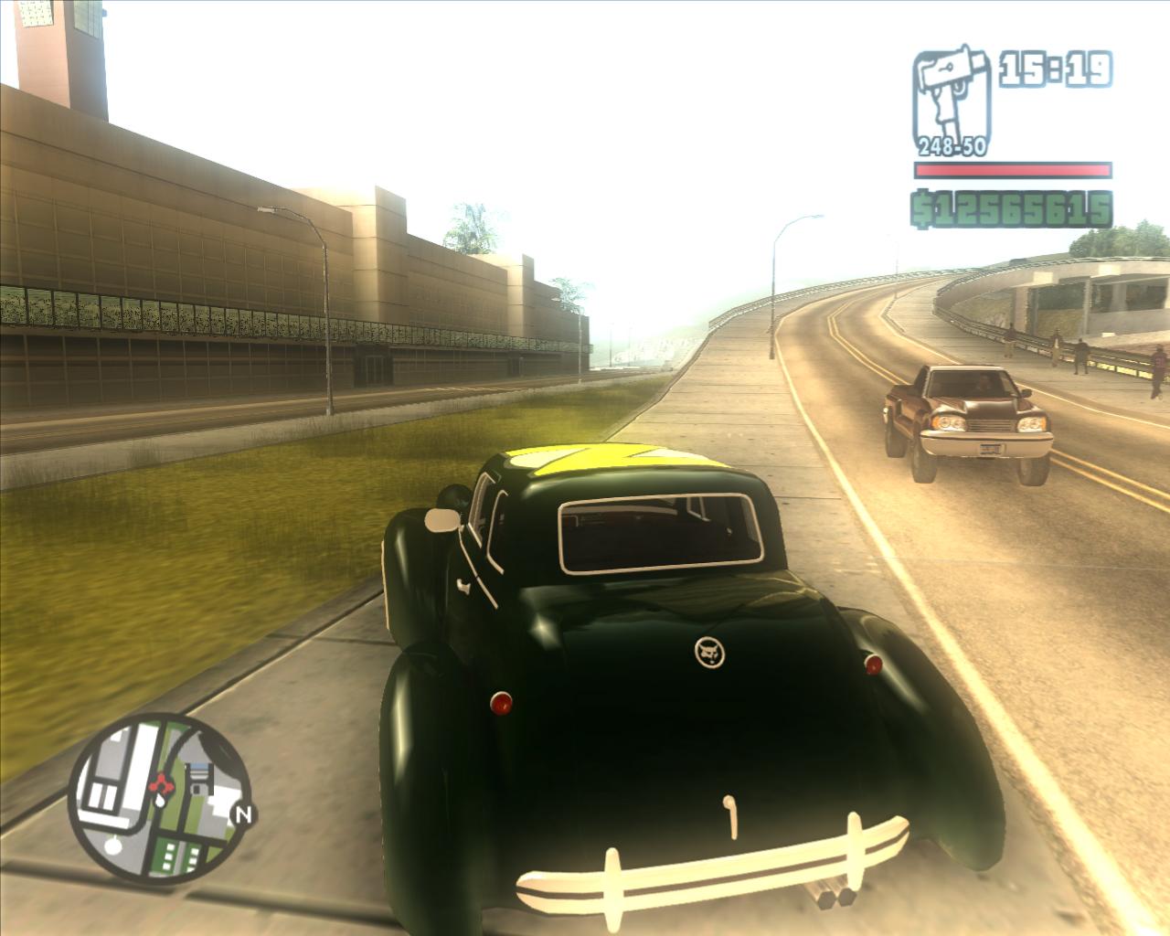 The GTA Place - Zaibatsu Z-type from GTA2 for San Andreas