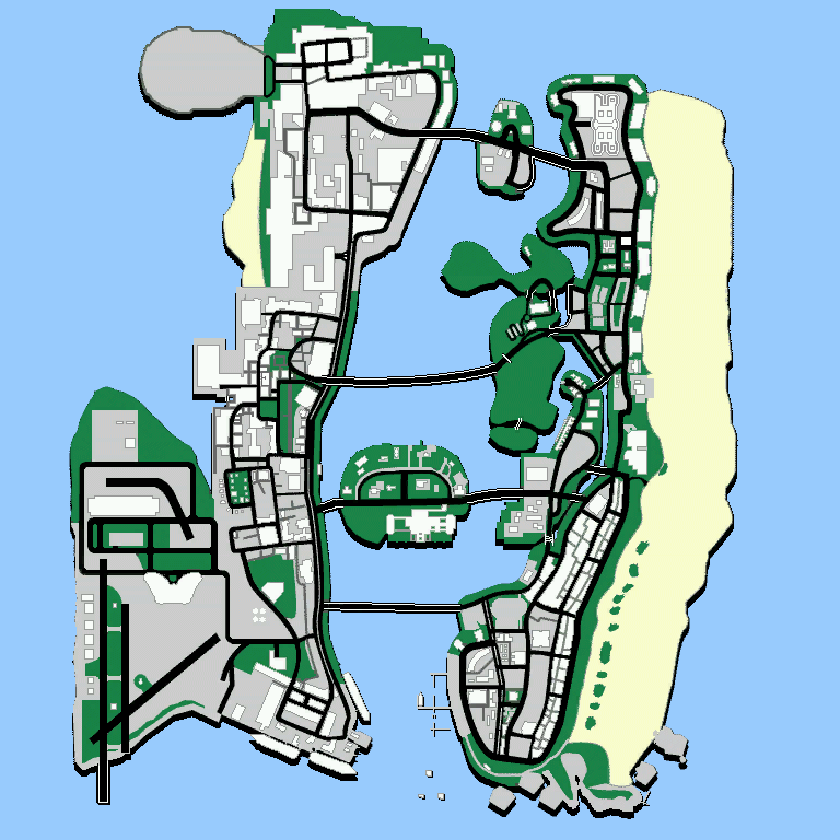 The GTA Place - Vice City Maps